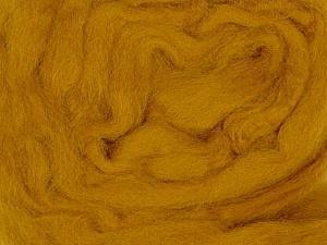 50gr-1.8m (1.76oz-1.97yards) 100% Wool felt Fiber Content 100% Wool, Olive Green, Brand Ice Yarns, acs-934