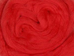 50gr-1.8m (1.76oz-1.97yards) 100% Wool felt Fiber Content 100% Wool, Brand Ice Yarns, Dark Salmon, acs-962