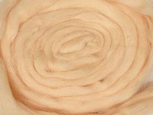 50gr-1.8m (1.76oz-1.97yards) 100% Wool felt Fiber Content 100% Wool, Brand Ice Yarns, Beige, acs-967
