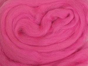 50gr-1.8m (1.76oz-1.97yards) 100% Wool felt Fiber Content 100% Wool, Brand Ice Yarns, Candy Pink, acs-971