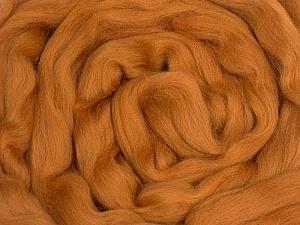 50gr-1.8m (1.76oz-1.97yards) 100% Wool felt Fiber Content 100% Wool, Brand Ice Yarns, Camel, acs-1106