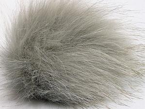 Diameter around 7cm (3&) Light Grey, Brand Ice Yarns, acs-1170