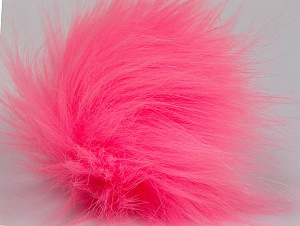 Diameter around 7cm (3&) Pink, Brand Ice Yarns, acs-1179