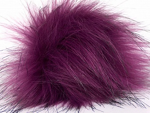 Diameter around 7cm (3&) Purple, Brand Ice Yarns, acs-1188