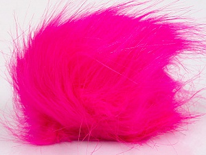 Diameter around 7cm (3&) Neon Pink, Brand Ice Yarns, acs-1189