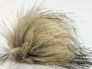 Diameter around 7cm (3&) Brand Ice Yarns, Cream, Black, acs-1272