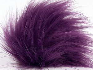 Diameter around 7cm (3&) Brand Ice Yarns, Dark Purple, acs-1306