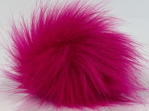 Diameter around 7cm (3&) Brand Ice Yarns, Fuchsia, acs-1313