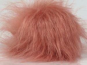 Diameter around 7cm (3&) Powder Pink, Brand Ice Yarns, acs-1315