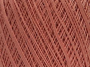 Ne: 10/3 Nm: 17/3 Fiber Content 100% Mercerised Cotton, Rose Pink, Brand Ice Yarns, Yarn Thickness 1 SuperFine  Sock, Fingering, Baby, fnt2-49529
