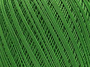 Ne: 10/3 Nm: 17/3 Fiber Content 100% Mercerised Cotton, Brand Ice Yarns, Green, Yarn Thickness 1 SuperFine  Sock, Fingering, Baby, fnt2-49532