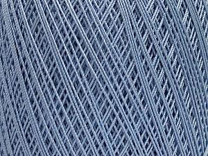 Ne: 10/3 Nm: 17/3 Fiber Content 100% Mercerised Cotton, Light Lilac, Brand Ice Yarns, Yarn Thickness 1 SuperFine  Sock, Fingering, Baby, fnt2-49533