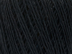 Fiber Content 100% Viscose, Brand Ice Yarns, Dark Navy, Yarn Thickness 3 Light  DK, Light, Worsted, fnt2-49540