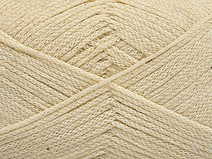 Fiber Content 100% Cotton, Brand Ice Yarns, Cream, Yarn Thickness 2 Fine  Sport, Baby, fnt2-50094