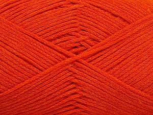 Fiber Content 100% Cotton, Orange, Brand Ice Yarns, Yarn Thickness 2 Fine  Sport, Baby, fnt2-50097