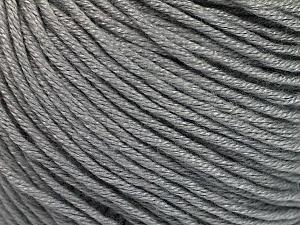 Fiber Content 60% Bamboo, 40% Cotton, Brand Ice Yarns, Grey, Yarn Thickness 3 Light  DK, Light, Worsted, fnt2-50533