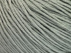 Fiber Content 60% Bamboo, 40% Cotton, Light Grey, Brand Ice Yarns, Yarn Thickness 3 Light  DK, Light, Worsted, fnt2-50534