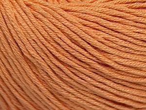 Fiber Content 60% Bamboo, 40% Cotton, Light Salmon, Brand Ice Yarns, Yarn Thickness 3 Light  DK, Light, Worsted, fnt2-50538
