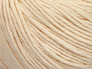 Fiber Content 60% Bamboo, 40% Cotton, Brand Ice Yarns, Dark Cream, Yarn Thickness 3 Light  DK, Light, Worsted, fnt2-50539