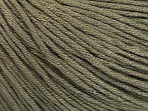 Fiber Content 60% Bamboo, 40% Cotton, Khaki, Brand Ice Yarns, Yarn Thickness 3 Light  DK, Light, Worsted, fnt2-50541