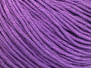 Fiber Content 60% Bamboo, 40% Cotton, Lavender, Brand Ice Yarns, Yarn Thickness 3 Light  DK, Light, Worsted, fnt2-50554