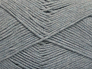 Fiber Content 100% Cotton, Brand Ice Yarns, Grey, Yarn Thickness 2 Fine  Sport, Baby, fnt2-50587