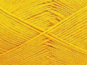Fiber Content 100% Cotton, Yellow, Brand Ice Yarns, Yarn Thickness 2 Fine  Sport, Baby, fnt2-50588