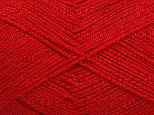 Fiber Content 100% Cotton, Red, Brand Ice Yarns, Yarn Thickness 2 Fine  Sport, Baby, fnt2-50591