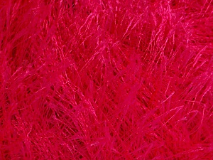 Fiberinnehåll 100% Polyester, Brand Ice Yarns, Fuchsia, Yarn Thickness 5 Bulky  Chunky, Craft, Rug, fnt2-50644