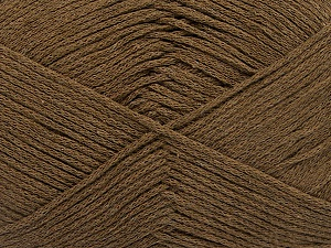 Fiber Content 100% Cotton, Brand Ice Yarns, Brown, Yarn Thickness 2 Fine  Sport, Baby, fnt2-50693
