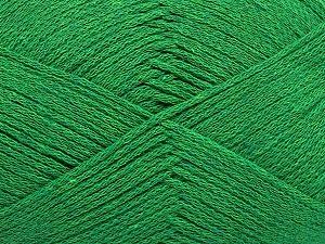 Fiber Content 100% Cotton, Brand Ice Yarns, Green, Yarn Thickness 2 Fine  Sport, Baby, fnt2-50695