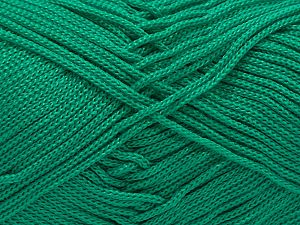 Width is 2-3 mm Fiber Content 100% Polyester, Brand Ice Yarns, Green, fnt2-51073