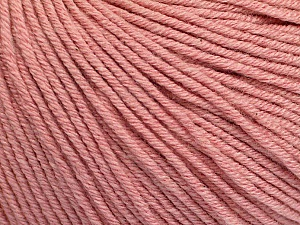 Fiber Content 60% Cotton, 40% Acrylic, Rose Pink, Brand Ice Yarns, Yarn Thickness 2 Fine  Sport, Baby, fnt2-51213