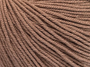 Fiber Content 60% Cotton, 40% Acrylic, Brand Ice Yarns, Camel, Yarn Thickness 2 Fine  Sport, Baby, fnt2-51217