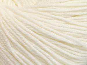 Fiber Content 60% Cotton, 40% Acrylic, Brand Ice Yarns, Ecru, Yarn Thickness 2 Fine  Sport, Baby, fnt2-51222