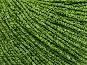 Fiber Content 60% Cotton, 40% Acrylic, Brand Ice Yarns, Forest Green, Yarn Thickness 2 Fine  Sport, Baby, fnt2-51223