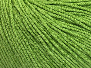 Fiber Content 60% Cotton, 40% Acrylic, Brand Ice Yarns, Green, Yarn Thickness 2 Fine  Sport, Baby, fnt2-51224