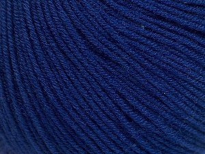 Fiber Content 60% Cotton, 40% Acrylic, Navy, Brand Ice Yarns, Yarn Thickness 2 Fine  Sport, Baby, fnt2-51233