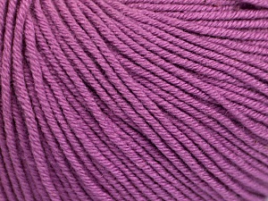 Fiber Content 60% Cotton, 40% Acrylic, Lavender, Brand Ice Yarns, Yarn Thickness 2 Fine  Sport, Baby, fnt2-51242