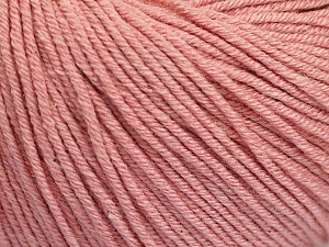 Fiber Content 60% Cotton, 40% Acrylic, Rose Pink, Brand Ice Yarns, Yarn Thickness 2 Fine  Sport, Baby, fnt2-51245