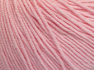 Fiber Content 60% Cotton, 40% Acrylic, Brand Ice Yarns, Baby Pink, Yarn Thickness 2 Fine  Sport, Baby, fnt2-51246