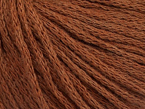 Fiber Content 50% Wool, 50% Acrylic, Brand Ice Yarns, Brown, Yarn Thickness 4 Medium  Worsted, Afghan, Aran, fnt2-51394