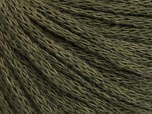 Fiber Content 50% Wool, 50% Acrylic, Khaki, Brand Ice Yarns, Yarn Thickness 4 Medium  Worsted, Afghan, Aran, fnt2-51475