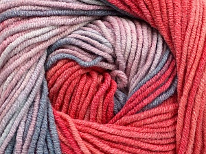 Fiber Content 55% Cotton, 45% Acrylic, Salmon, Pink, Brand Ice Yarns, Blue Shades, Yarn Thickness 3 Light  DK, Light, Worsted, fnt2-51510