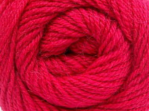 Fiber Content 45% Alpaca, 30% Polyamide, 25% Wool, Brand Ice Yarns, Fuchsia, Yarn Thickness 3 Light  DK, Light, Worsted, fnt2-51532