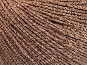Fiber Content 40% Acrylic, 40% Merino Wool, 20% Polyamide, Brand Ice Yarns, Camel, Yarn Thickness 2 Fine  Sport, Baby, fnt2-51542