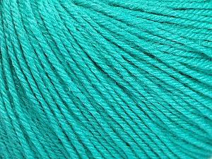 Fiber Content 40% Acrylic, 40% Merino Wool, 20% Polyamide, Mint Green, Brand Ice Yarns, Yarn Thickness 2 Fine  Sport, Baby, fnt2-51543