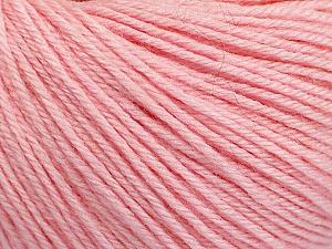 Fiber Content 40% Merino Wool, 40% Acrylic, 20% Polyamide, Brand Ice Yarns, Baby Pink, Yarn Thickness 2 Fine  Sport, Baby, fnt2-51547