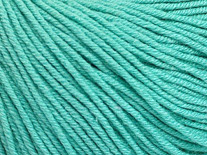 Fiber Content 60% Cotton, 40% Acrylic, Mint Green, Brand Ice Yarns, Yarn Thickness 2 Fine  Sport, Baby, fnt2-51559