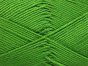 Fiber Content 50% Bamboo, 50% Acrylic, Brand Ice Yarns, Green, Yarn Thickness 2 Fine  Sport, Baby, fnt2-51654